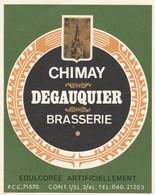 Etiket   Chimay - Bière