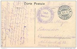 Konigl. Preuss. III Garde Pionier Bataillon 1915 / CPA Douai Panorama  Cachet Militaire - Guerre De 1914-18