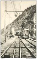 Thème Train Ligne Culoz à Modane Machine 161 C E 8 Près Aix Les Bains Région Sud-Est (Ex PLM) CP Ed. H.M.P. N° 7 Locomot - Trenes