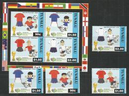 TUVALU - MNH - Sport - Soccer - World Cup 2006 - Coupe Du Monde