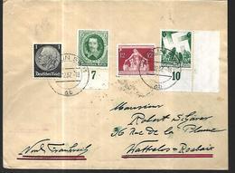 Allemagne Reich III  08  12 1937  De Berlin  Vers   Roubaix - Lettres & Documents