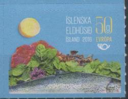 ICELAND, 2016, MNH, NORDEN, NORDIC CUISINE, FISH, MEAT, 1v - Food