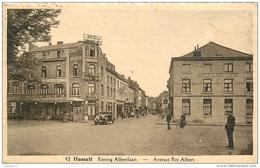 Belgique HASSELT Koning Albertlaan - Avenue Roi Albert CPA Ed. Nullens - Hasselt