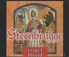 Etiket  Steenbrugge - Bière
