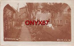 "Carte Postale Photo OAKHAM (Royaume-Uni-Angleterre-Rutland) Maison Propriété ""Stonebow"" RARE - Rutland"