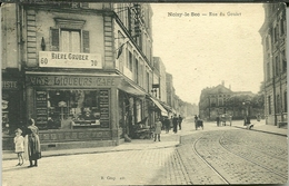 93 CPA NOISY Le SEC Rue Du Goulet écrite En 1930 Animation Vins Liqueurs Café Bière Gruber - Noisy Le Sec