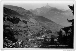 Suisse VS CHAMPERY Vu De Bonaveau CPSM PFD Ed.Perrochet-Matile 9426 - VS Valais