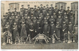 CLERMONT-FERRAND Musique Du 92 ème Régiment D'infanterie Chef M. THERON CPA - Reggimenti