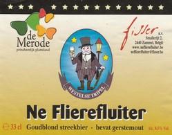 Etiket   Flierefluiter - Bière