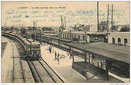 91 JUVISY La Plus Grande Gare Du Monde CPA - Juvisy-sur-Orge