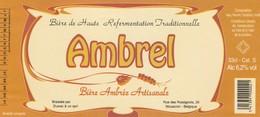Etiket     Ambrel - Bière