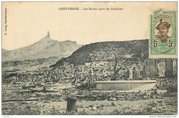 972 Martinique SAINT PIERRE Les Ruines Après L'éruption CPA Ed R. Lamy - Altri