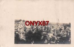 Carte Postale Photo Militaire Allemand PRONKI (Biélorussie-Belarus)  Friedhof Cimetière Militaire Guerre 14/18 Krieg - Cimiteri Militari
