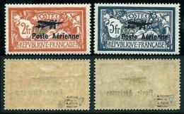 France PA N° 1 + 2 Neufs *  Centrage Quasi-parfait Signés Calves - Cote 1000 Euros - Qualité LUXE - Airmail