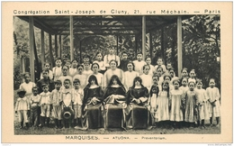 977 Marquises ATUONA Préventorium CPSM PF Ed. Congrégation Saint Joseph - Polynésie Française