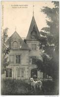 87 SAINT LEGER MAGNAZEIX Château De M. Gaullier CPA Ed Desquaire à Lussac Les Eglises - France