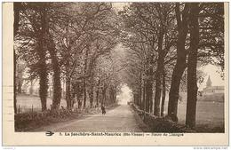 87 LA JONCHERE SAINT MAURICE Route De Limoges CPA - Andere Gemeenten