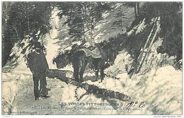88 Les Bucherons Dans La Forêt En Hiver ( Environs De Gerardmer) CPA Ed. Homeyer N°276 Les Vosges Pittoresques - Non Classificati