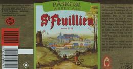 Etiket   St Feuillien - Bière