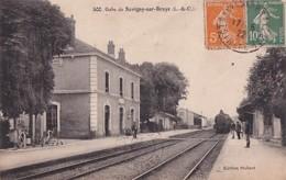 GARE  DE SAVIGNY SUR BRAYE       TRAIN EN PP - France