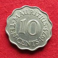 Mauritius 10 Cents 1975 KM# 33 Lt 552  Mauricia Maurice - Maurice