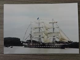 BELEM De Retour à Nantes En 1968 Pour Ses 120 Ans Navigation Sur La Loire Ref 1915 - Bateaux