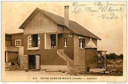 85 NOTRE DAME DE MONTS Jeannine ( Villa ) CPA N°215 - Autres Communes