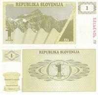 SLOVENIA SLOVENIJA 1 TOLARJEV 1990 FDS UNC - Serbia