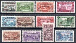GRAND LIBAN - YT N° 63 à 74 - Neufs * - MH - Cote: 62,00 € - Grand Liban (1924-1945)