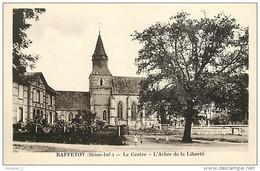 76 RAFFETOT Le Centre L'arbre De La Liberté CPSM PF Ed. R. Caron - Altri Comuni