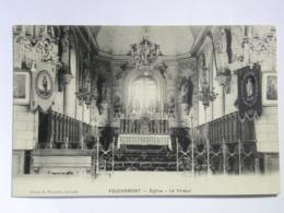 CPA (76) Seine Maritime - FOUCARMONT - église, Le Choeur - France