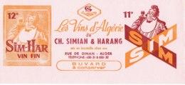Buvard,les Vins D'algérie Sim Har,Alger. - Other