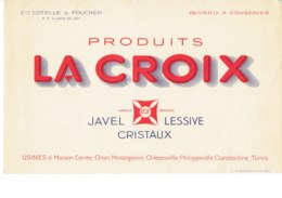 Buvard,produits La Croix,Alger. - Produits Ménagers