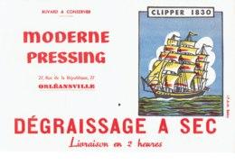 Buvard, Moderne Pressing,Orléansville,Clipper 1830. - Other