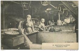71 MONTCEAU LES MINES Trieuses Au Crible CPA Ed. F. Tillier N°57 (Mine, Mines, Charbon ) - Autres Communes