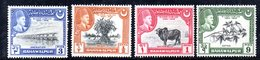 W1215 - BAHAWALPUR INDIA 1949 : Serie Yvert N. 18/21  ***  MNH. Silver Jubilee - Bahawalpur