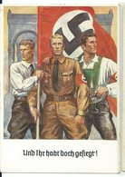 """DR Privat-Ganzsache """"9. November 1938"""" """"Und Ihr Habt Doch Gesiegt"""" Gelaufen - Germany"""