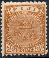 FIJI - 1891 Mint - Fiji (...-1970)