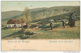 67 WILDERSBACH Souvenir De LA PERRHEUX ( LA PERHEUX ) Gruss Von Der Bärhöhe CPA Ed. Konig - Cartes Postales