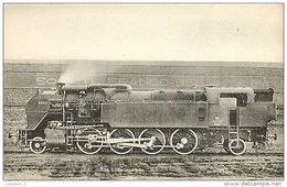 Thème Train Machine N°4.1227 Locomotives Du Nord CP Ed. H.M.P. N° 233 Locomotive Vapeur - Trains