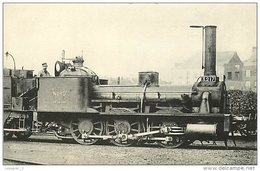 Thème Train Machine N°3217 Locomotives Du Nord CP Ed. H.M.P. N° 267 Locomotive Vapeur - Trains