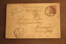 ( 818 ) DR GS P 12/02  Gelaufen  -   Erhaltung Siehe Bild - Postwaardestukken