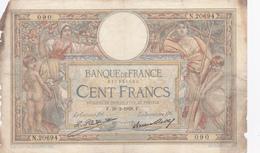Banque De France 100 Francs L.O.M. 1928. - 1871-1952 Anciens Francs Circulés Au XXème