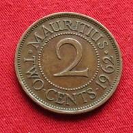Mauritius 2 Cents 1962 KM# 32 Lt 656 RARE   Mauricia Maurice - Maurice
