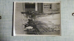 PHOTO ORIGINALE 1934 SAINT MALO GRANDE RUE EGLISE - Plaatsen