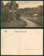 OF [17552] - BELGIUM - MARIEMONT - RUINES - UNE PARTIE DE L'AILE DRITE ET LA FONTAINE - Morlanwelz