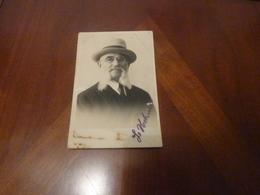 Photo Originale Dedicacée Judaica Romania Bucuresti Foto New York  Jean Feldman - Autographes