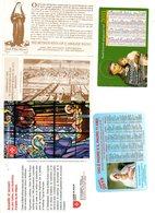 Zakkalender Kalender  Religie Réligion  Calendrier De Poche Pocket Calendar De Poche Tasschenkalender 4 Stuks/pcs - Calendriers
