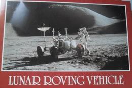 Lunar Vehicle Roving - Astronomie