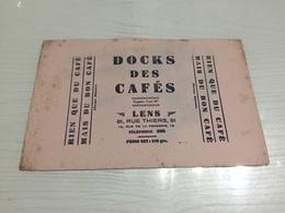 Buvard Ancien DOCKS DES CAFÉS LENS - Café & Thé